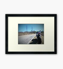 Motorcycle Suzuki Open Road Framed Print
