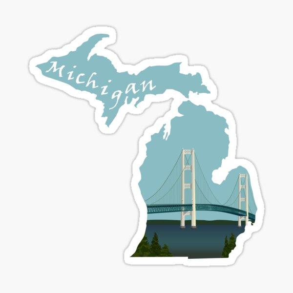 Michigan: Mackinac Bridge Sticker