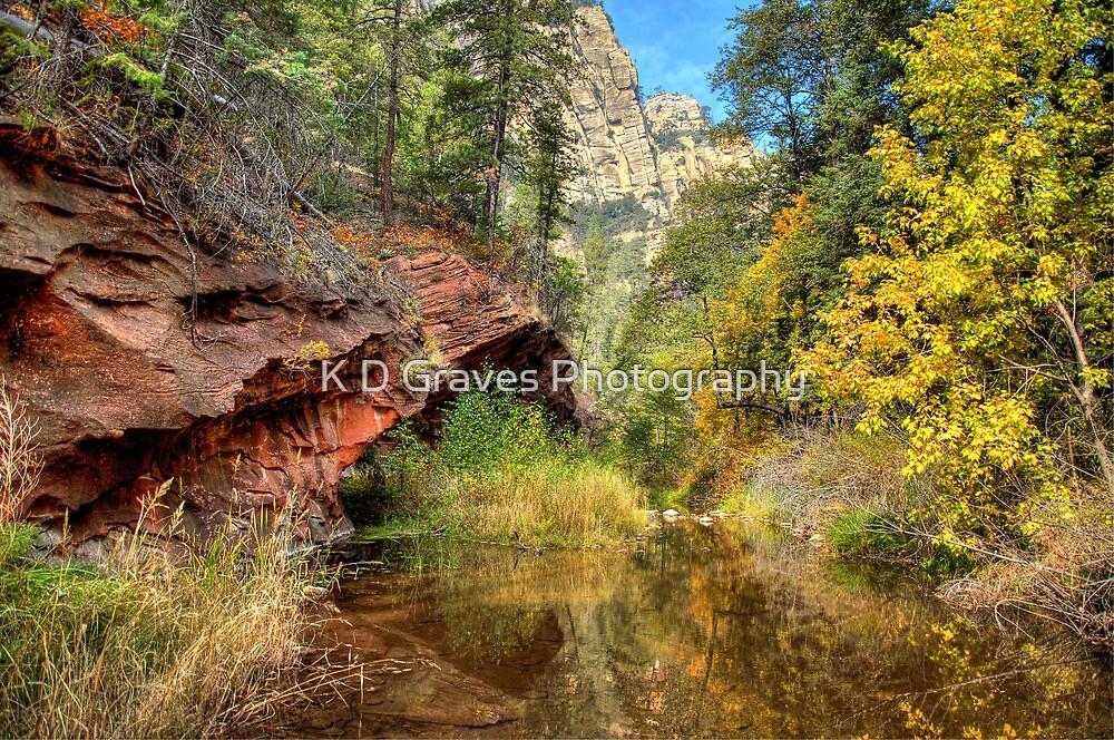 Oak Creek Canyon in Sedona by K D Graves Photography
