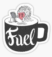 Coffee is Fuel Sticker