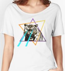 Laser Tiger Women's Relaxed Fit T-Shirt