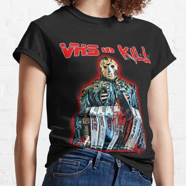 VHS and Kill - Jason Classic T-Shirt