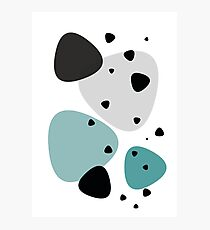 Peppercorn - Teal Photographic Print