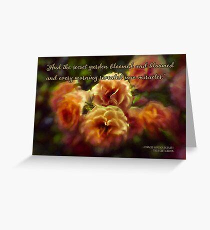 The Secret Garden Greeting Card