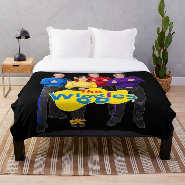 The Wiggles banb Throw Blanket