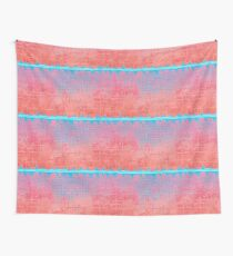 Quilt cover, half tone dots repeat Wall Tapestry