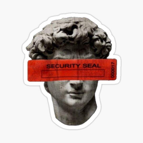 Vatican security seal Sticker