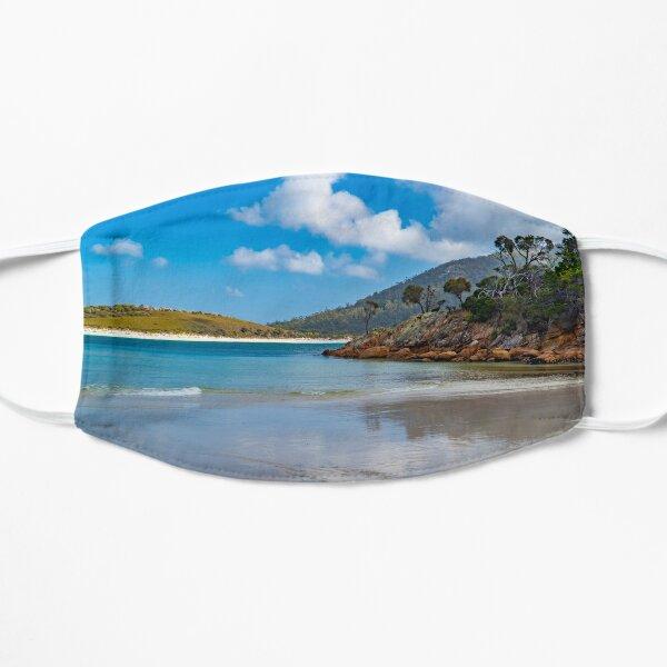 Wineglass Bay Beach, Tasmania Flat Mask