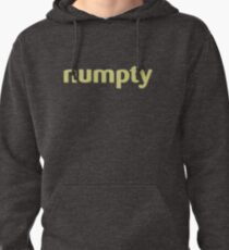 numpty shirt Pullover Hoodie