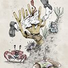 Real Life SpongeBob - Natural History Variant by Filippo Vanzo