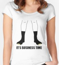 Flight Of The Conchords - Business Time Women's Fitted Scoop T-Shirt