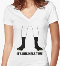 Flight Of The Conchords - Business Time Women's Fitted V-Neck T-Shirt