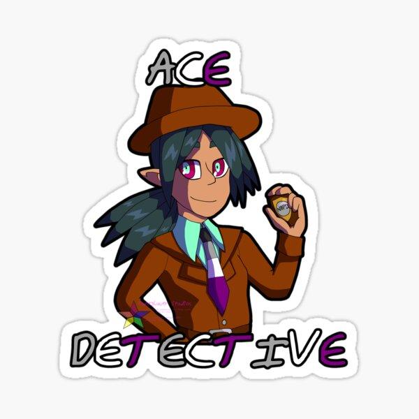 "Silva Gunmetal, ""Ace"" Detective Sticker"