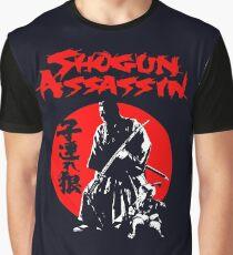 LONEWOLF AND CUB AKA SHOGUN ASSASSIN SHINTARO KATSU JAPANESE CLASSIC SAMURAI MOVIE  Graphic T-Shirt