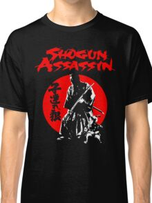 LONEWOLF AND CUB AKA SHOGUN ASSASSIN SHINTARO KATSU JAPANESE CLASSIC SAMURAI MOVIE  Classic T-Shirt