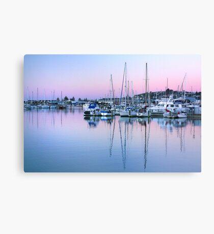 Port Ahuriri at Dusk Canvas Print