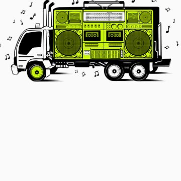 BoomBox Track by PokerTShirts