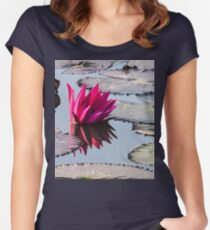Reflection of Lotus Women's Fitted Scoop T-Shirt