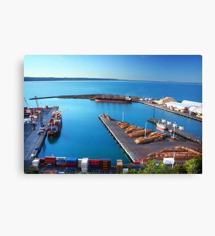 Napier Port, NZ Canvas Print