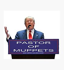 Pastor of Muppets Photographic Print