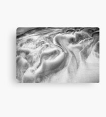 Swirls in Sand Canvas Print