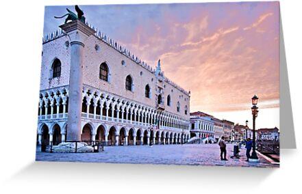 Sunrise in Venice III by SeeOneSoul