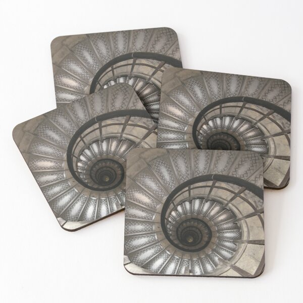 Spiral Staircase Coasters (Set of 4)