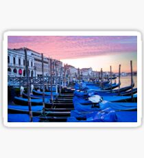 Sunrise in Venice I Sticker