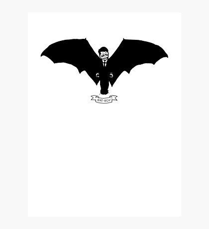 Bat-Boy Photographic Print