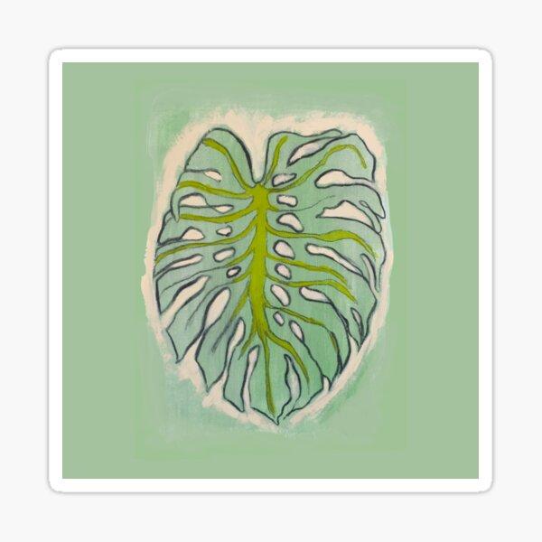 elephant leaf Sticker
