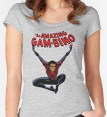 The Amazing Childish Gambino  Women's Fitted Scoop T-Shirt