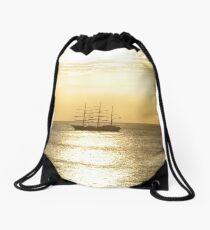 Caribbean Sunsets Drawstring Bag