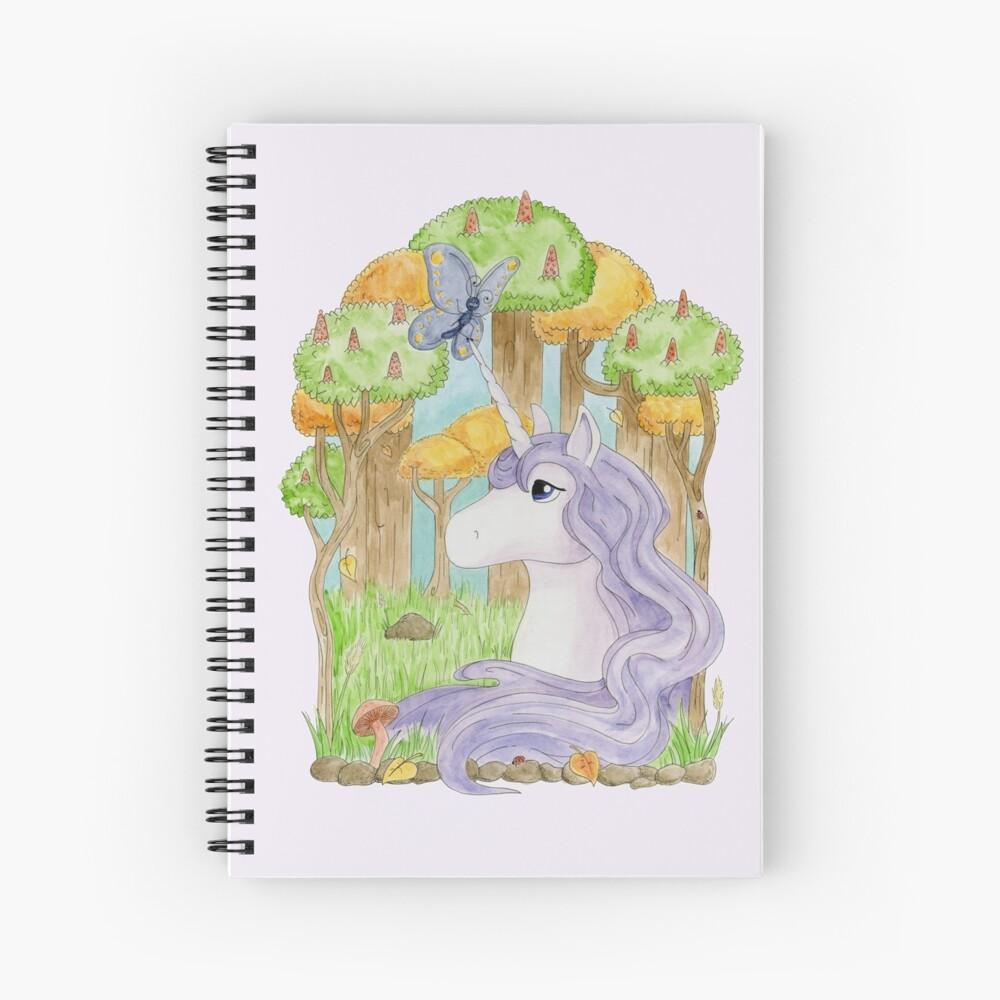 The Last Unicorn Spiral Notebook