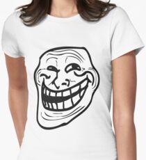 Rageface shirt! Women's Fitted T-Shirt