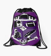 Endless Wonder - Purple Drawstring Bag