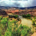 Rio Grande, Abiquiu, New Mexico by fauselr