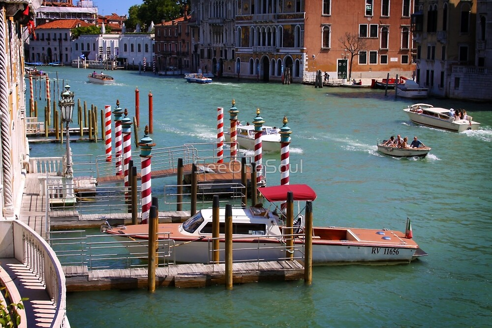 Gran Canal, Venice by SeeOneSoul