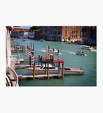 Gran Canal, Venice Photographic Print