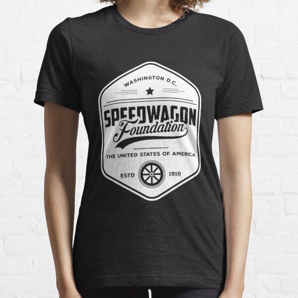 Speedwagon Foundation Retro Shirt Essential T-Shirt