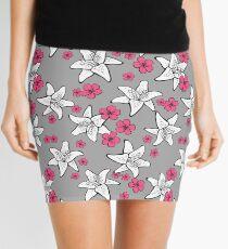 Romantic floral pattern Mini Skirt