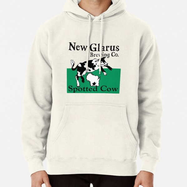 Spotted Cow New Glarus Brewery Pullover Hoodie