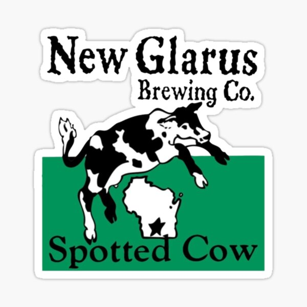 Spotted Cow New Glarus Brewery Sticker