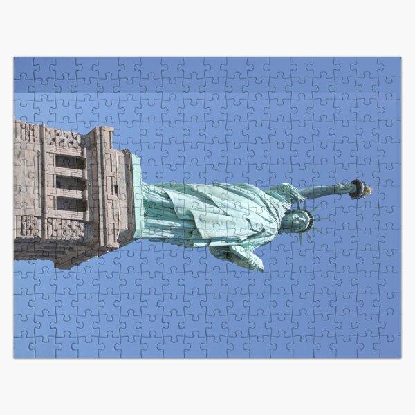 New York, Statue of Liberty, #NewYork, #StatueOfLiberty, #New, #York, #Statue, #Liberty Jigsaw Puzzle