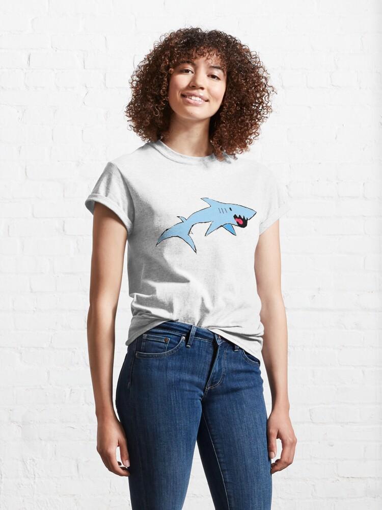 Alternate view of Robbie the Shark Classic T-Shirt