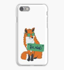 Fox Noises iPhone Case/Skin
