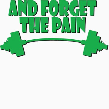 train insane and forget the pain green by joba1366