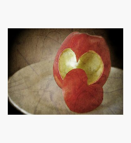 Appleheart Photographic Print