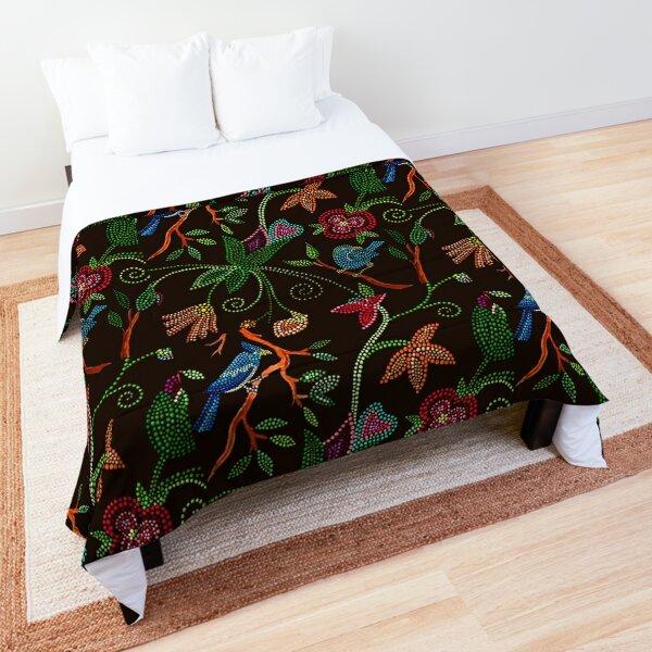 Blue bird Song Comforter