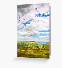 Clouds Over Skirrid Greeting Card
