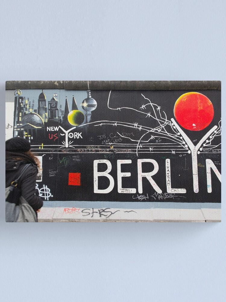 Alternate view of Berlin Wall Canvas Print